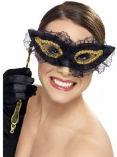 Fastidious Gold & Black Eye Mask